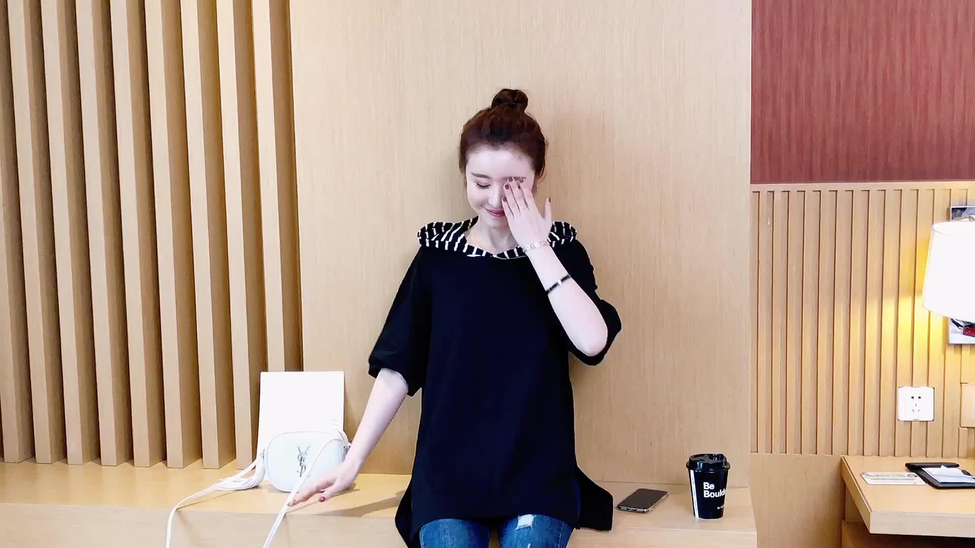 大码女装胖mm夏装2019新款韩版体恤中长款上衣半袖宽松短袖T恤女