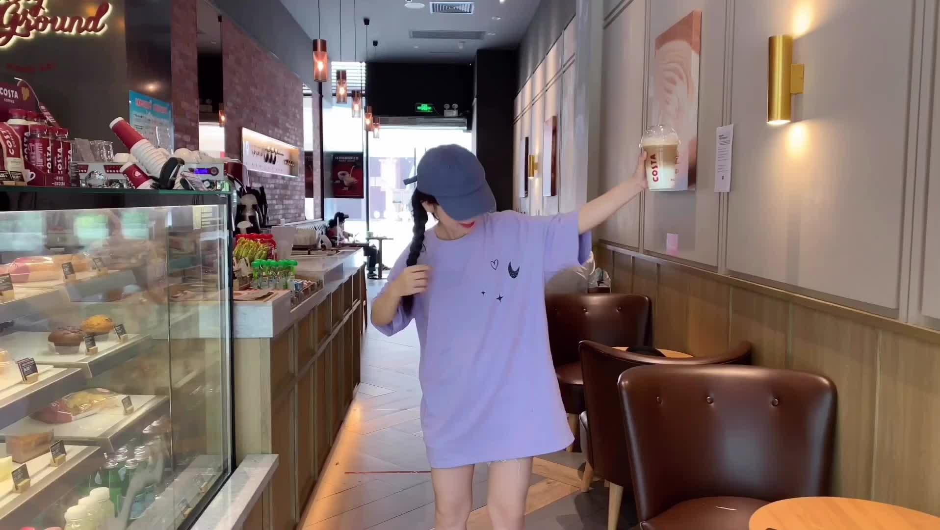 純棉2020夏裝0035#實拍T恤慵懶風超火網紅寬松短袖女ins潮打底衫