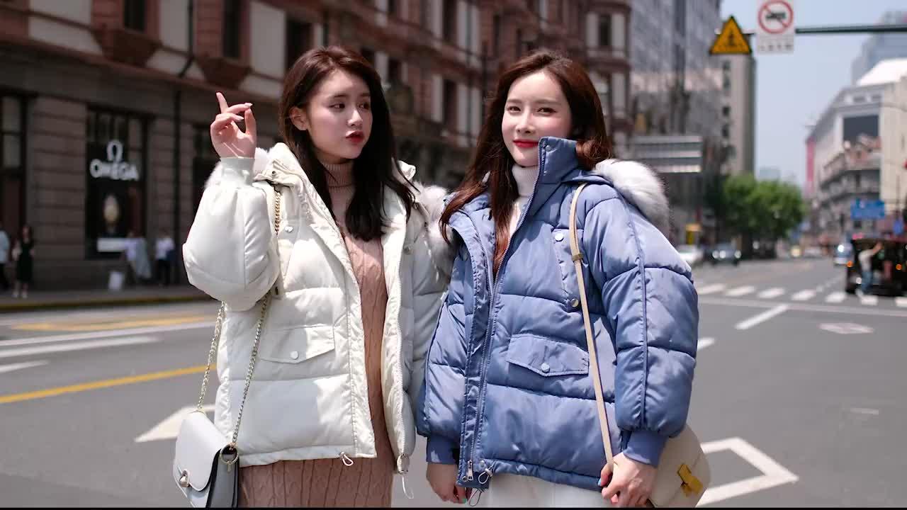 2019反季棉服女短款冬季寬鬆麵包服外套學生韓版oversize小棉襖潮