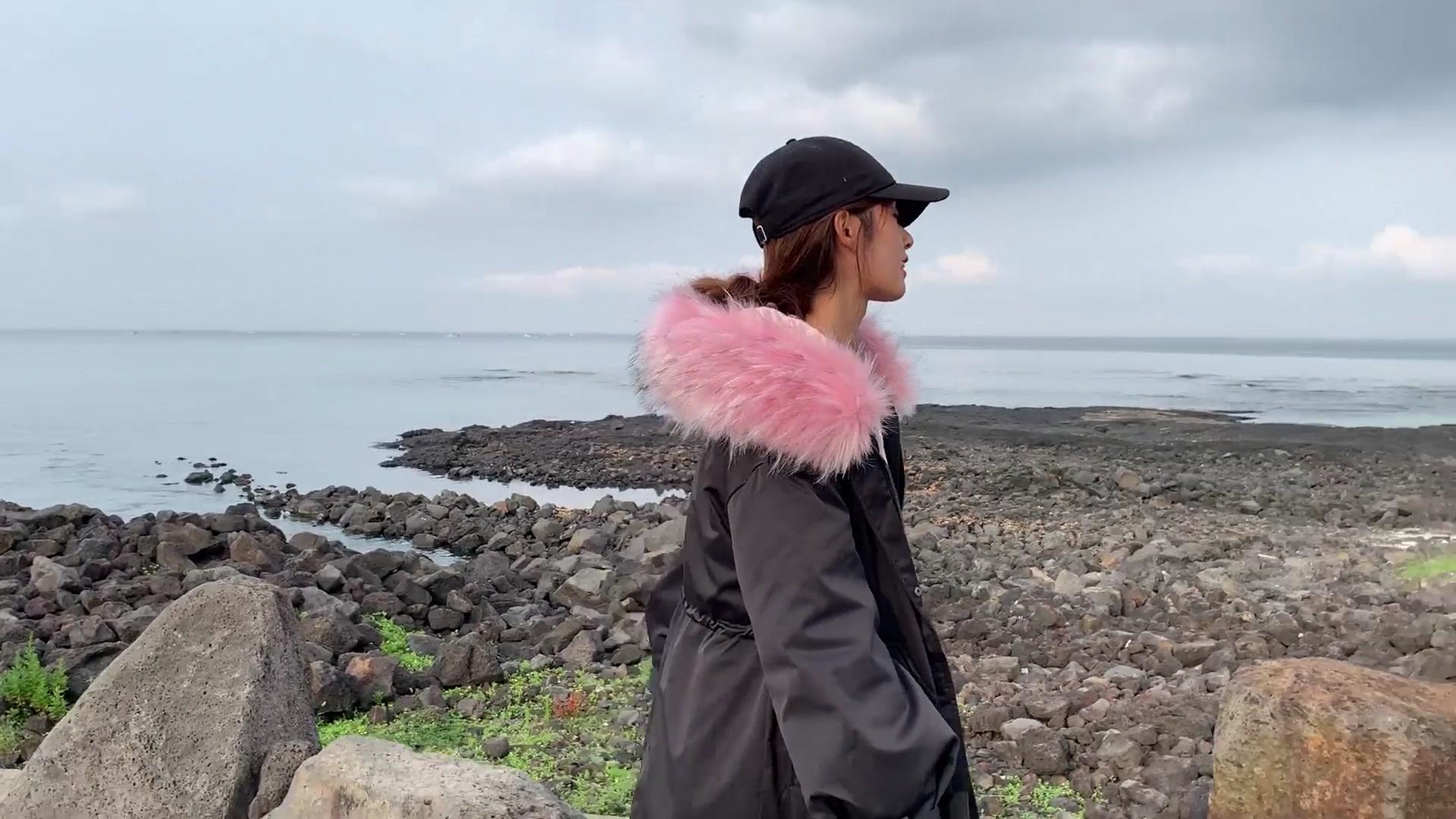 实拍冬季新款羽绒服韩版棉服女长款大码宽松棉衣棉袄工装外套