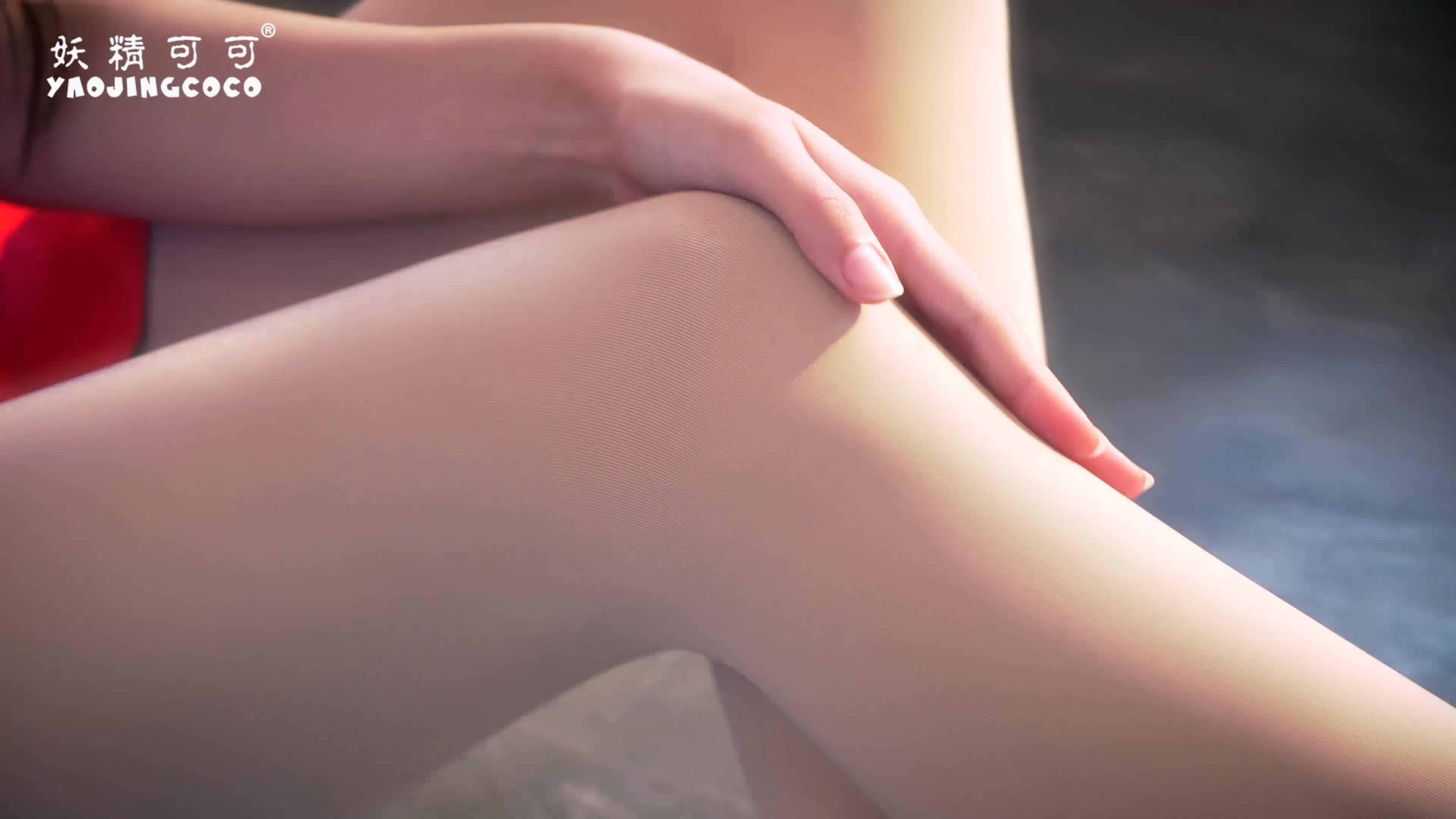 妖精可可光腿透透襪1.0 2019秋冬新款打底褲外穿秋薄款膚色一體褲